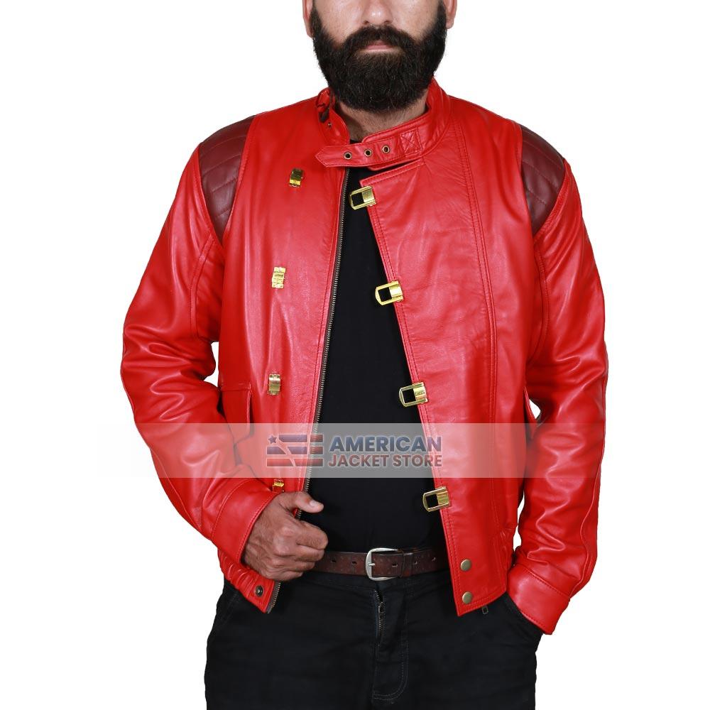 Akira Red Capsule Leather Jacket American Jacket Store
